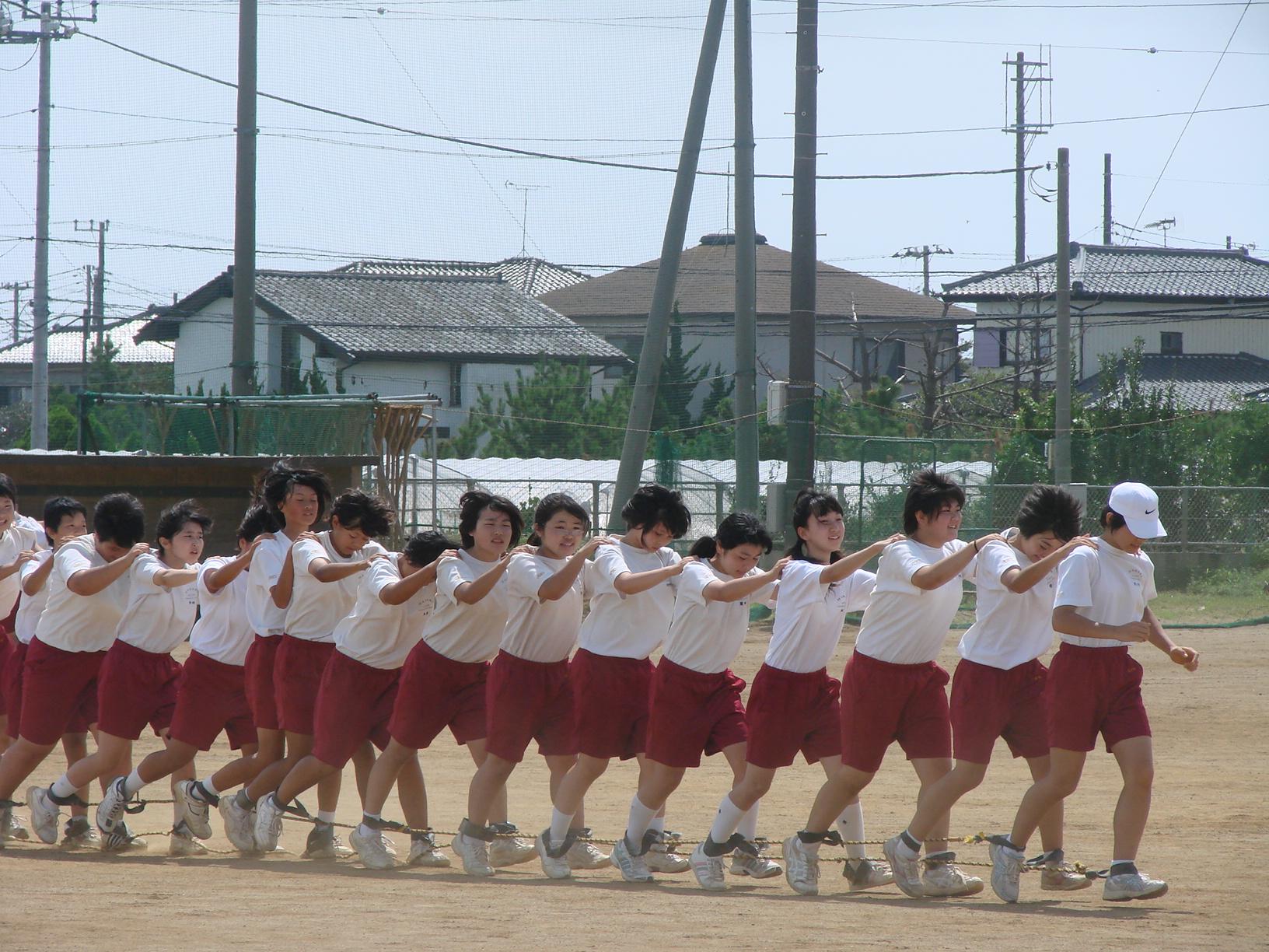 体育祭練習始まる![9月5日(月)]