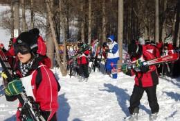 skiing 200
