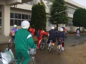 自転車登校