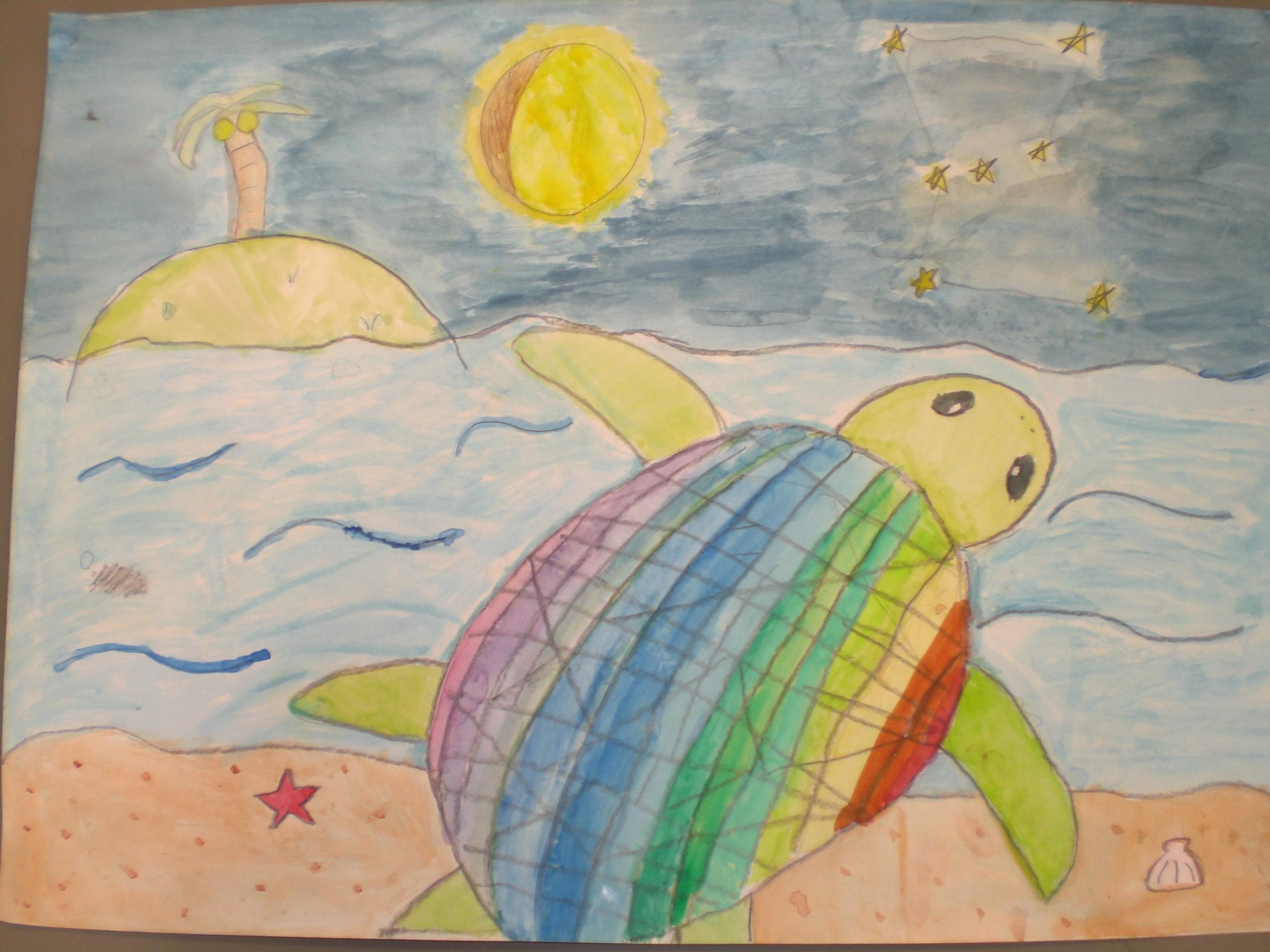 5年生 ぼくの夢 わたしの夢絵画...